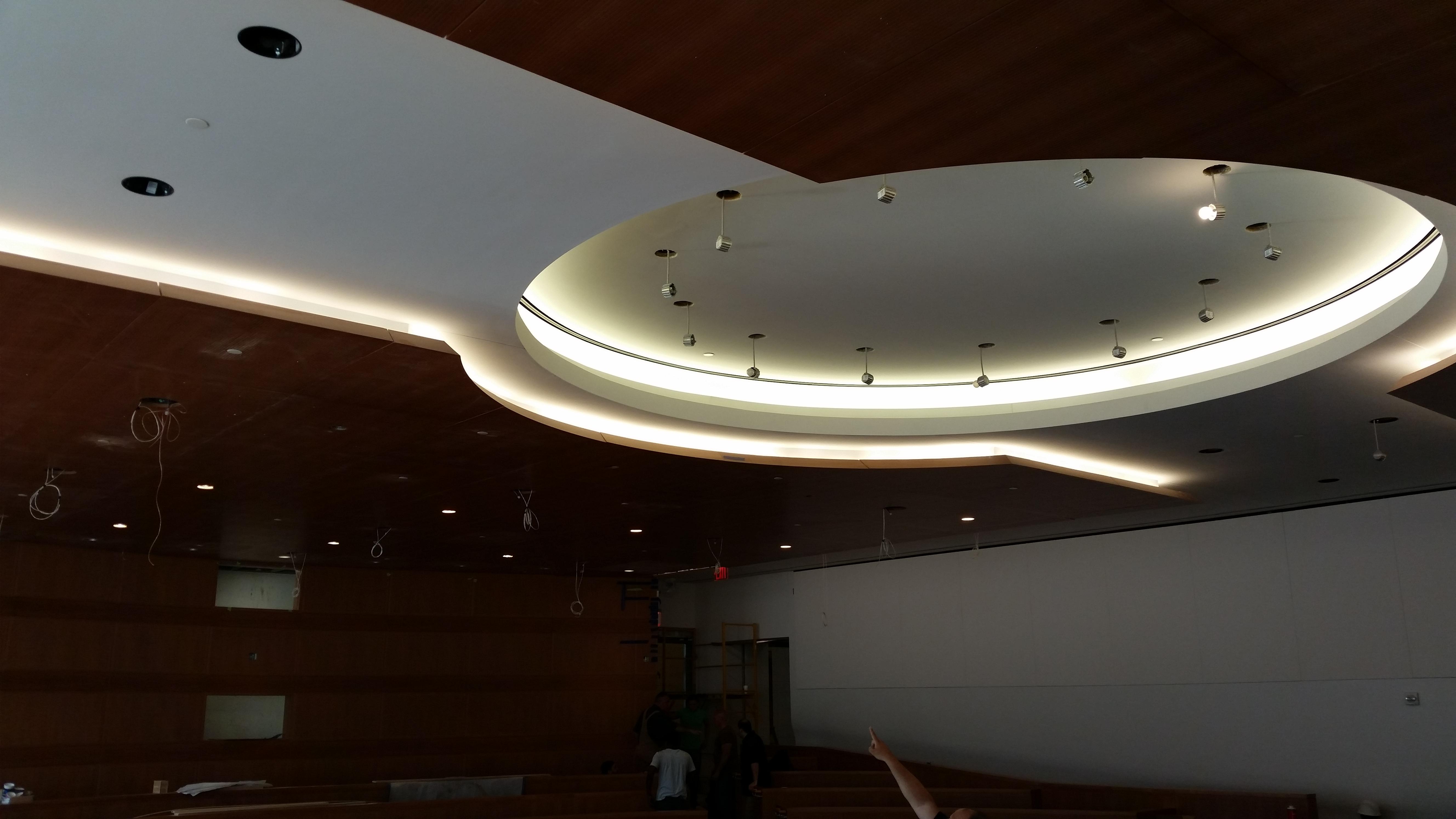 Fordham University Law School – Mock Courtroom